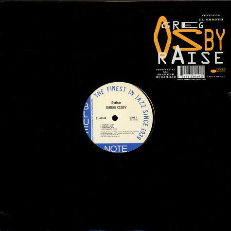Greg Osby Featuring C.L. Smooth - Raise