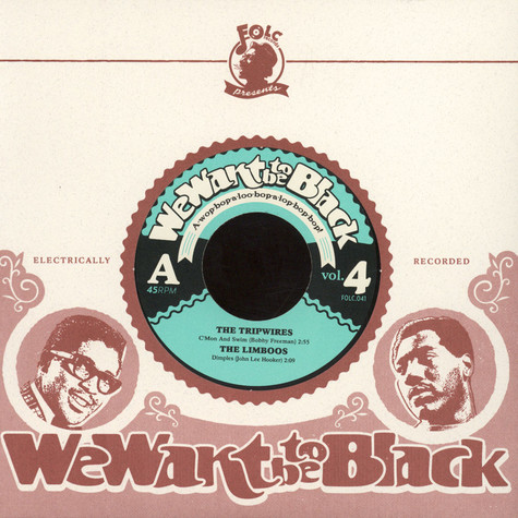 V.A. - We Want To Be Black Volume 4