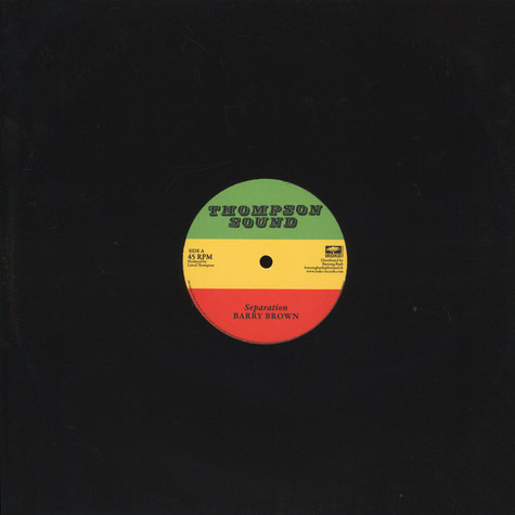 Barry Brown / Roots Radics Band - Separation / Scientist In Fine Style