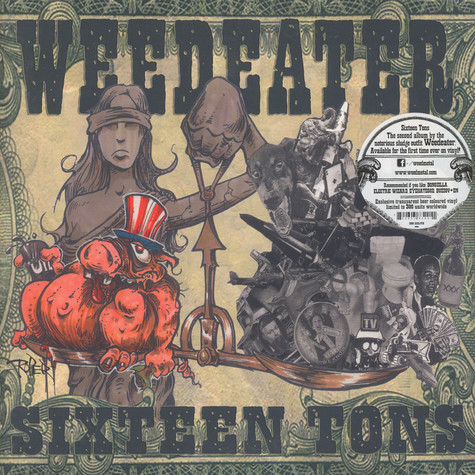 Weedeater - Sixteen Tons Colored Vinyl Edition