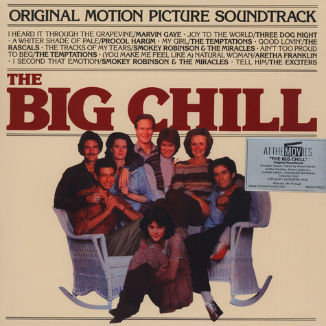 V.A. - OST The Big Chill Red Vinyl Edition