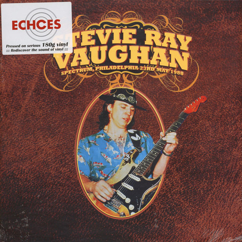 Stevie Ray Vaughan - Spectrum, Philadelphia 23rd May 1988