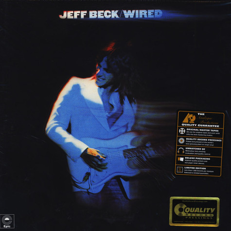 Jeff Beck - Wired 45RPM, 200g Vinyl Edition