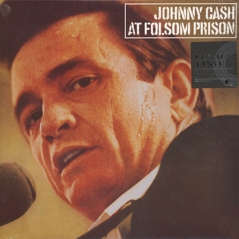 Johnny Cash - At Folsom Prison Black Vinyl Edition