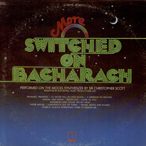 Sir Christopher Scott - More Switched On Bacharach