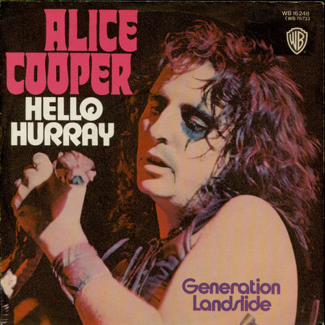Alice Cooper - Hello Hurray