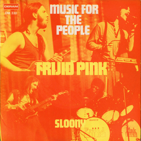Frijid Pink - Music For The People