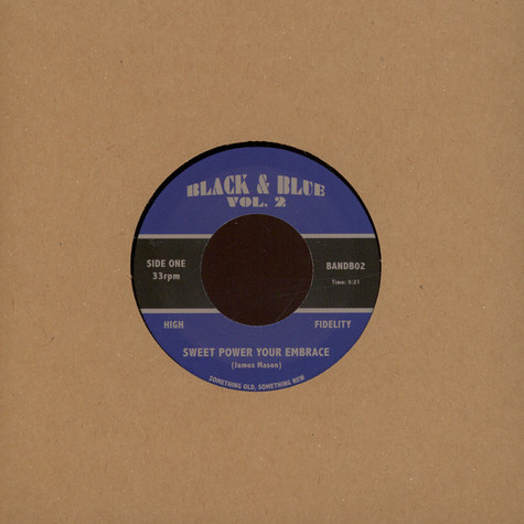 James Mason / Terry Callier - Sweet Power Your Embrace / Holding On