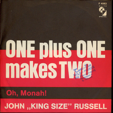 Big John Russell - One Plus One Makes Two