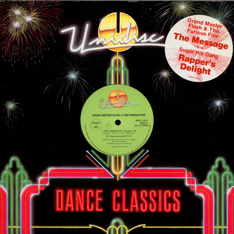Grandmaster Flash & The Furious Five / Sugarhill Gang - The Message / Rappers Delight