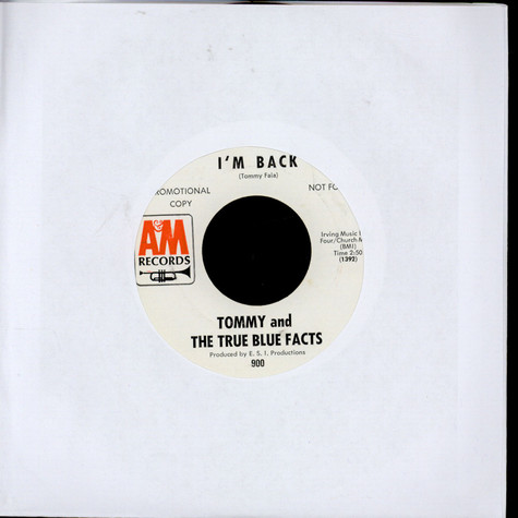 Tommy & The True Blue Facts - I'm Back