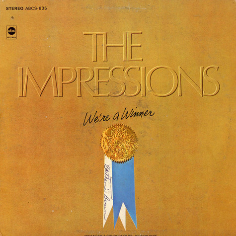 Impressions, The - We're A Winner