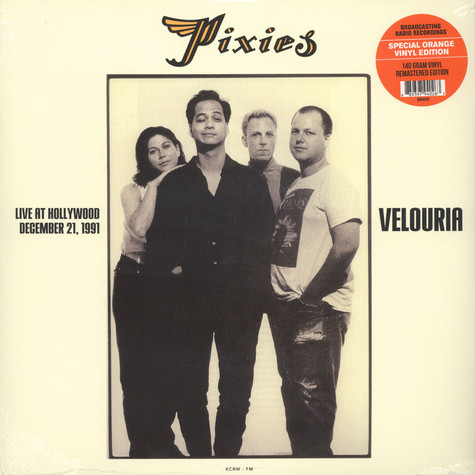 Pixies - Velouria: Live At Hollywood, December 21, 1991 Orange Vinyl Edition