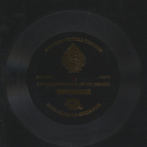 Lord Finesse - You Know What I'm About Remix Flexi Disc - Gold