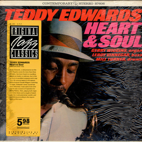 Teddy Edwards - Heart & Soul