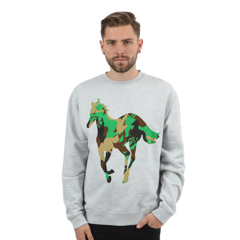 Deftones - Camo Pony Crewneck Sweater