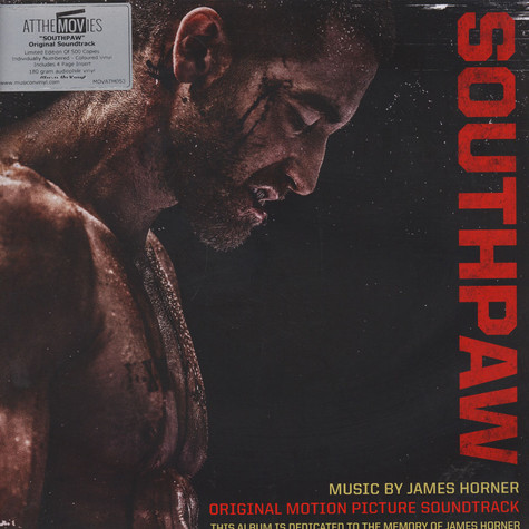 James Horner - OST Southpaw Red Vinyl Edition