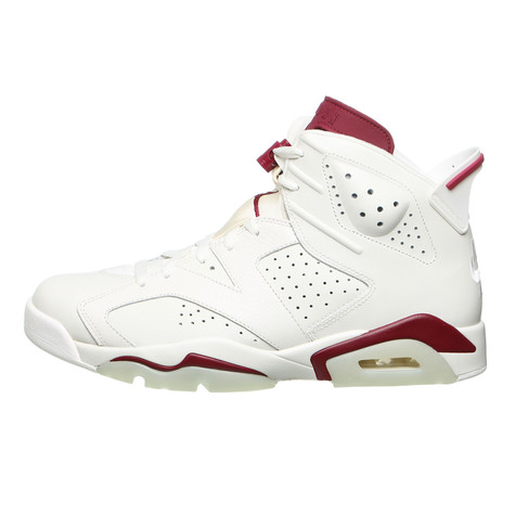 60547833394a18 Jordan Brand - Air Jordan 6 Retro (Off White   New Maroon)