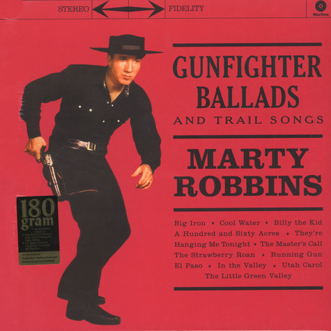 Marty Robbins - Gunfighter Ballads Trail Songs