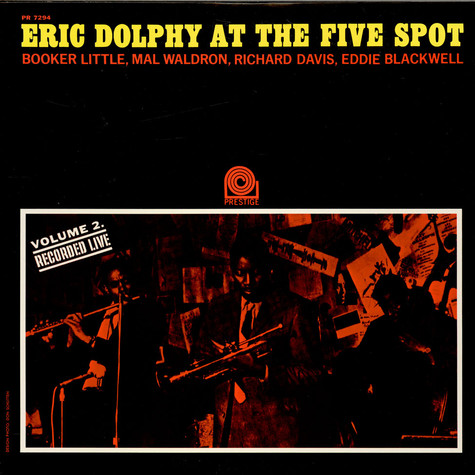 Eric Dolphy - At The Five Spot Volume 2