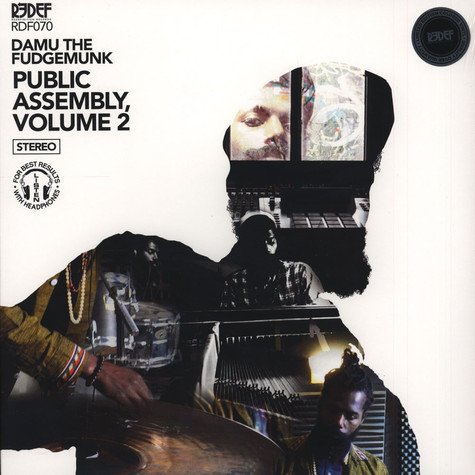 Damu The Fudgemunk - Public Assembly Volume 2 Gold & Black Vinyl Edition