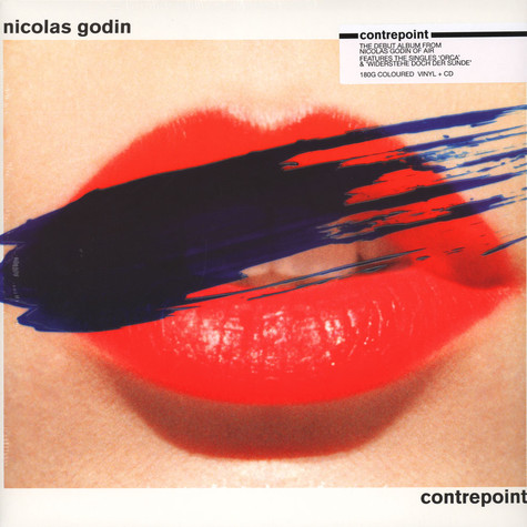 Nicolas Godin of Air - Contrepoint Black Vinyl Edition