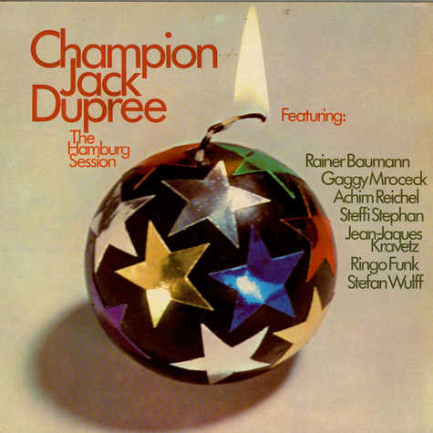 Champion Jack Dupree - The Hamburg Session