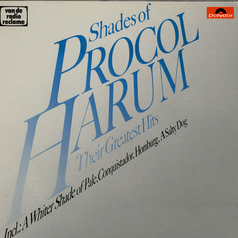 Procol Harum - Shades Of Procol Harum - Their Greatest Hits