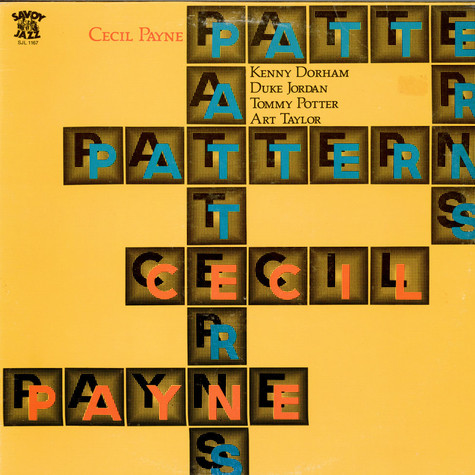 Cecil Payne - Patterns