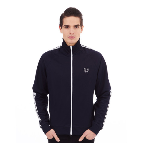 2d9641365 Fred Perry - Laurel Wreath Tape Track Jacket (Carbon Blue)