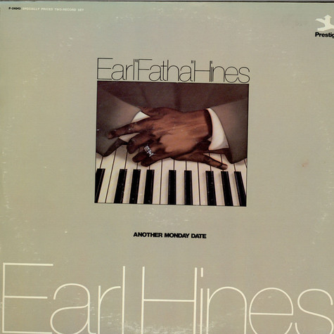 Earl Hines - Another Monday Date