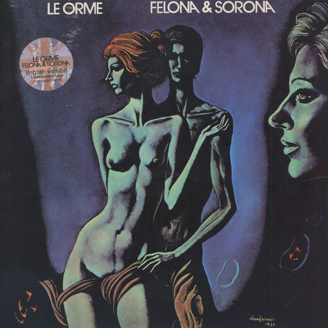 Le Orme - Felona & Sorona UK Edition
