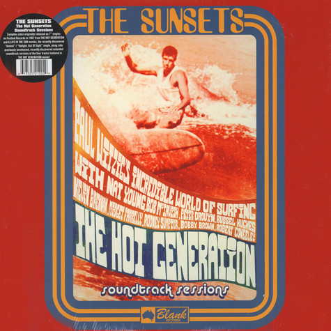 Sunsets, The - Hot Generation Soundtrack Sessions