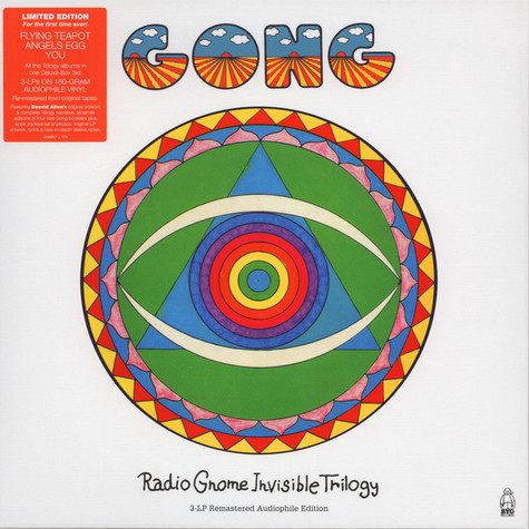 Gong - The Radio Gnome Invisible Trilogy