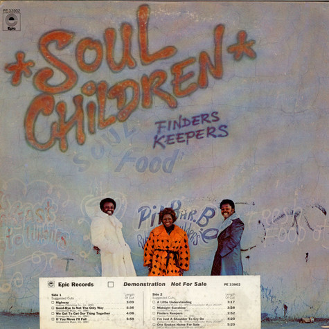 Soul Children - Finders Keepers
