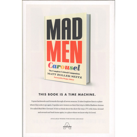 Matt Zoller Seitz - Mad Men Carousel - The Complete Critical Companion
