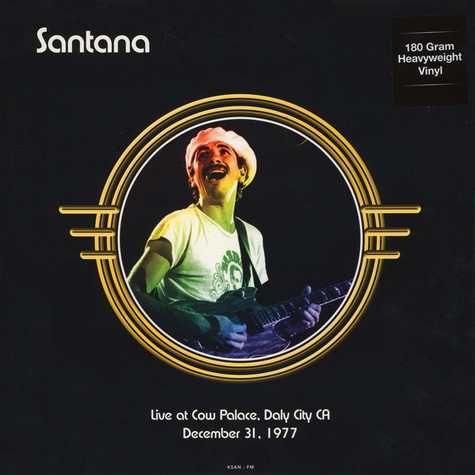 Santana - Live At Cow Palace, Daly City, CA, December 31 1977 180g Vinyl Edition