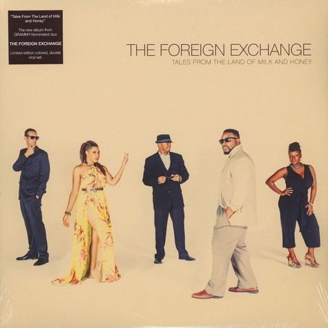 Foreign Exchange, The - Tales From The Land Of Milk And Honey Colored Vinyl Edition