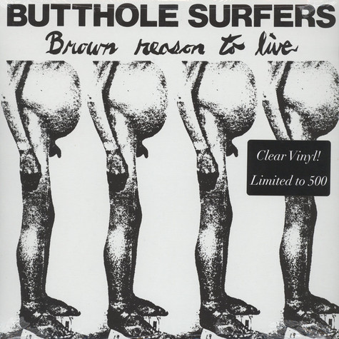 Butthole Surfers - Brown Reason To Live Clear Vinyl Edition