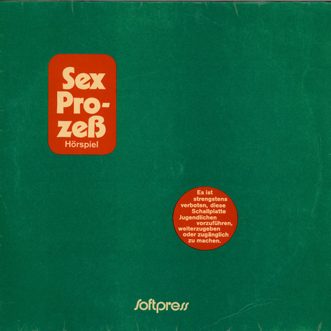 Unknown Artist - Sex Prozeß Hörspiel