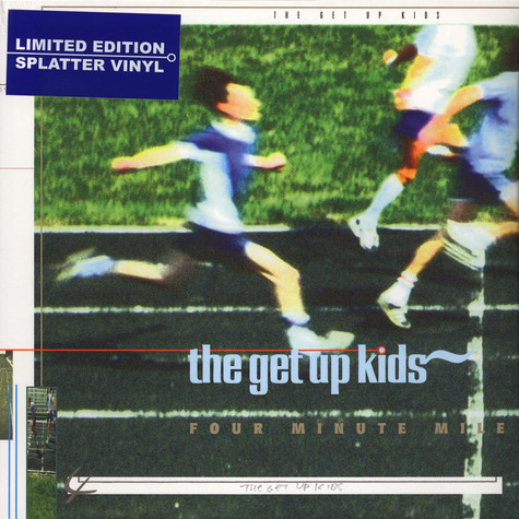 Get Up Kids, The - Four Minute Mile Splatter Vinyl Edition