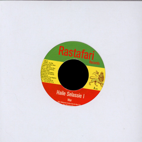 Haile Selassie I Featuring Bob Marley & Wailers, The - War / Selassie Is The Chapel