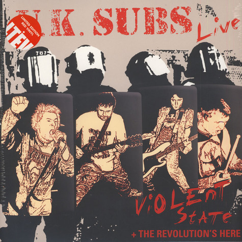 UK Subs - Violent State + Revolution's Here