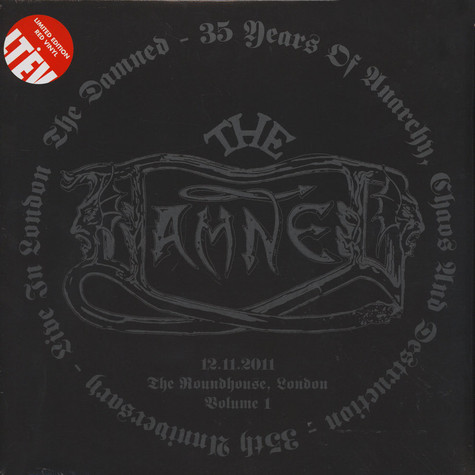 Damned, The - 35 Years Of Anarchy, Chaos & Destruction - 35th Anniversary - Live In London Volume 1