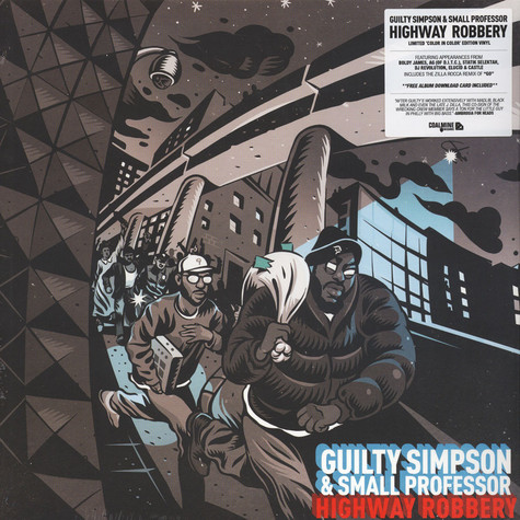Guilty Simpson & Small Professor - Highway Robbery