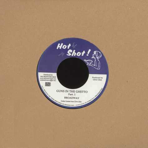 Broadway / Randy's All Stars - Guns In The Ghetto (Parts 1 & 2)