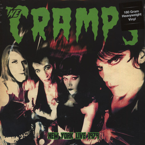 Cramps, The - Live In New York, August 18, 1979 180g Vinyl Edition