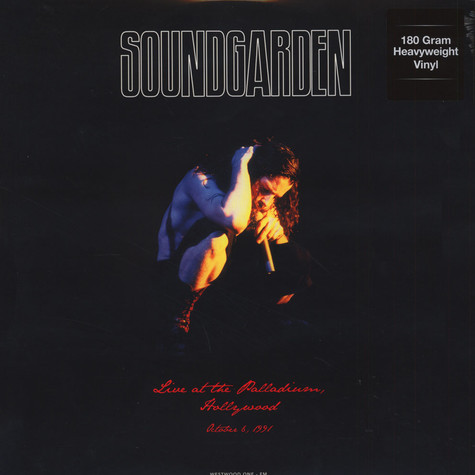 Soundgarden - Live At The Palladium, Hollywood 180g Vinyl Edition