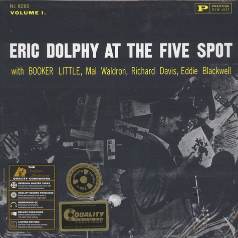 Eric Dolphy - At The Five Spot