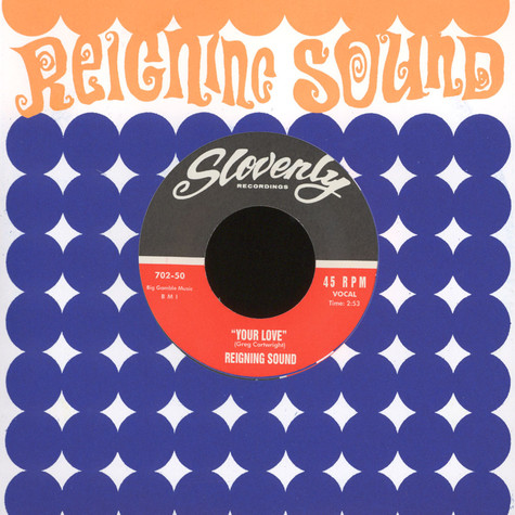 Reigning Sound - I'll Cry / Your Love